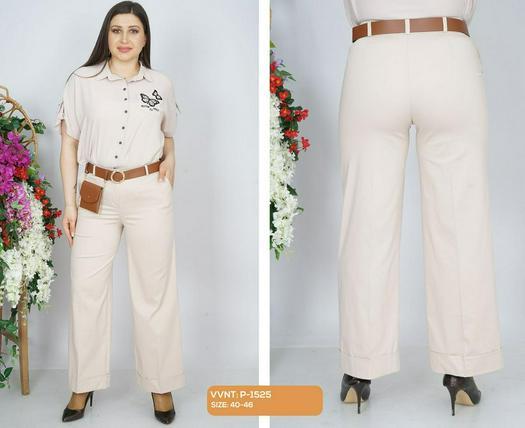 Большие размеры брюки 978058