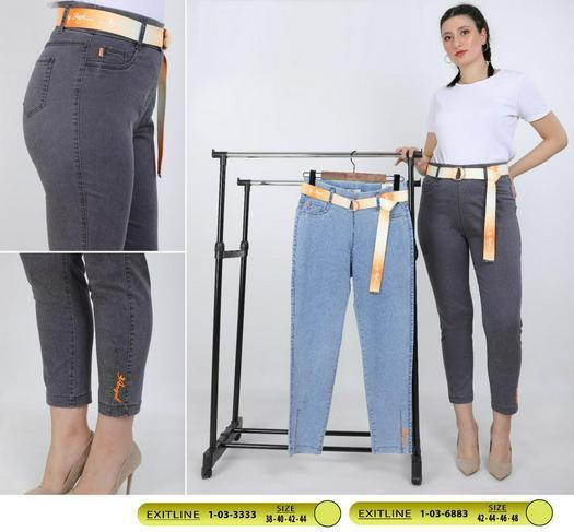 Большие размеры джинсы 978034