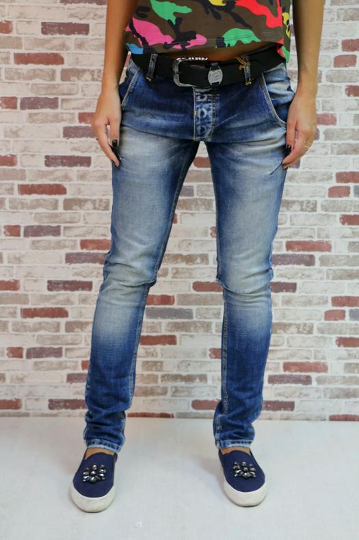Разбитые серии джинсы брюки
